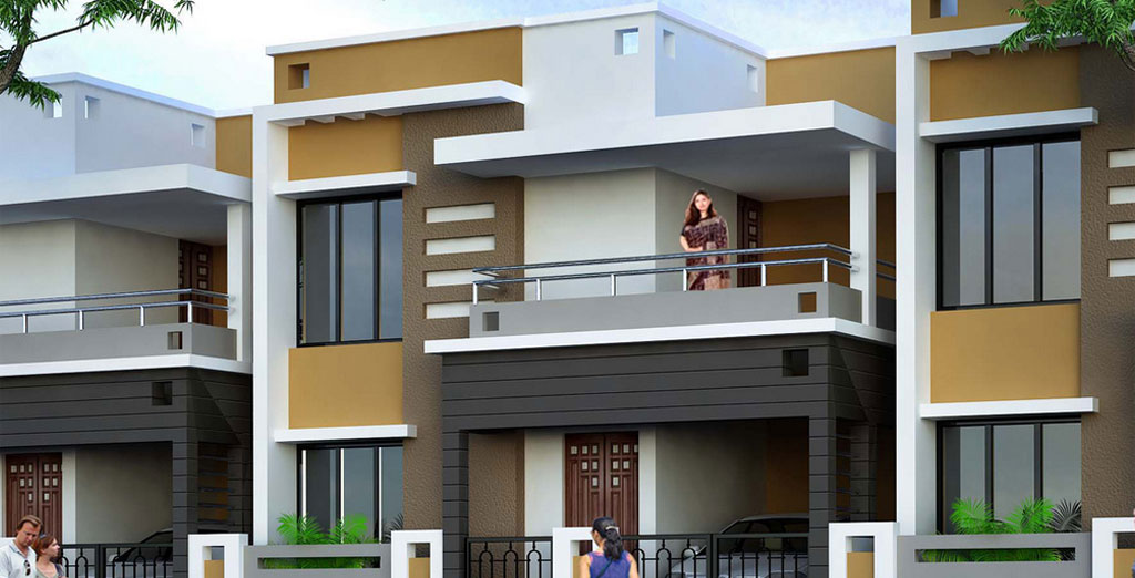 The lotus luxury homes in trichy tamilnadu for Window design tamilnadu